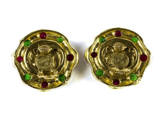 Chanel Chanel Vintage Gripoix CC Earrings
