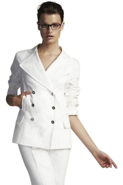 Preload https://img-static.tradesy.com/item/3782389/dolce-and-gabbana-white-new-dolce-and-gabbana-jacket-42-small-ivory-cotton-double-breast-blazer-size-0-2-650-650.jpg