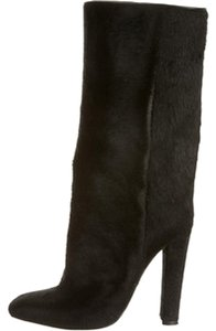 Alexander Wang Pony Hair Fashion Style black Boots