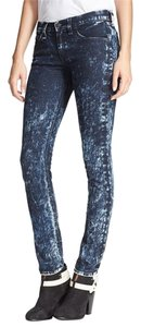 Rag & Bone Acid Wash Fashion Stylish Skinny Jeans-Acid - item med img
