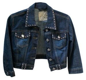 LA Idol blue Womens Jean Jacket