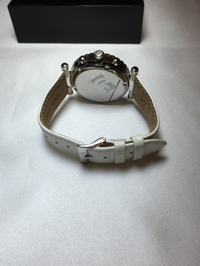 Guess Ivory Watch and Tote Bag [ Roxanne Anjou Closet ]