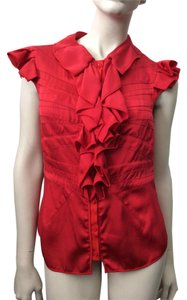 Zac Posen Top Red
