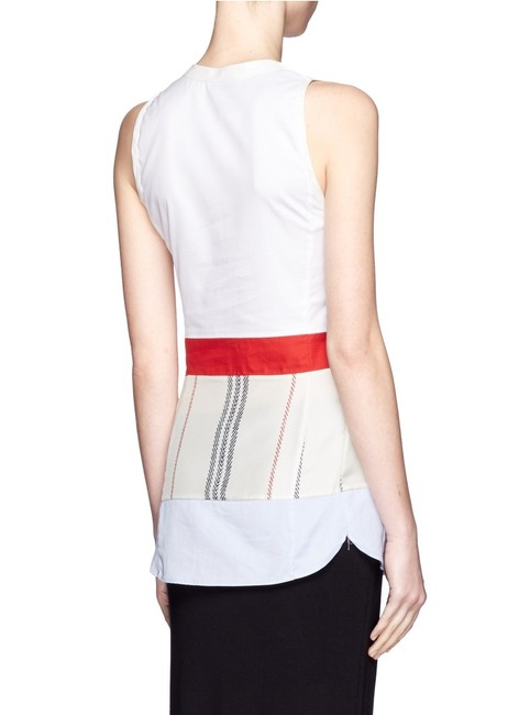 Altuzarra Striped Fashion Styish Peplum Top multi