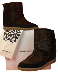 Isabel Marant Anthracite/Fauve Boots