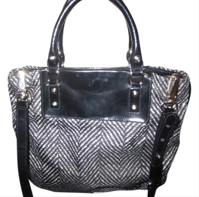 Kate Spade Black and White / Charcoal Cross Body Bag Kate Spade Black and White / Charcoal Cross Body Bag Image 1