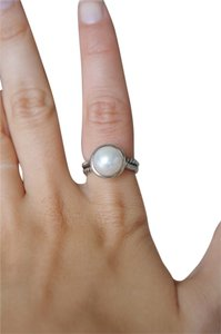 David Yurman David Yurman Cable Pearl Ring SZ 6.5