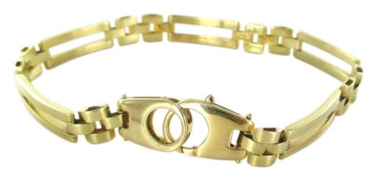 Preload https://img-static.tradesy.com/item/3783253/milor-gold-18kt-solid-yellow-curved-design-link-hallmark-italy-bracelet-0-0-540-540.jpg