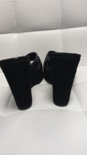 Coach Nwot Meredith Black Wedges