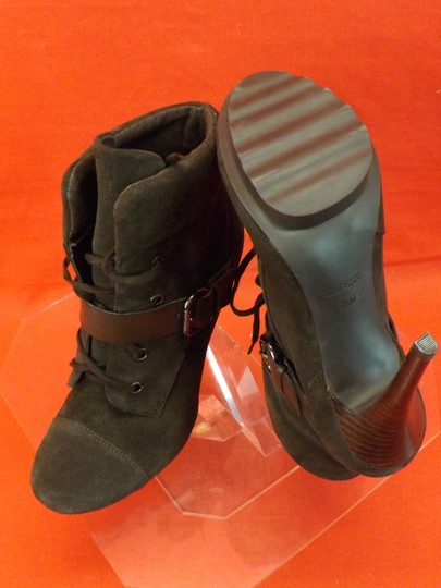 Guess By Marciano Dark Brown Boots