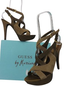 Guess By Marciano Olive Green Pumps