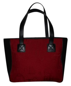 Ralph Lauren Tote in red & black