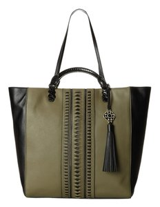 Rafe Tote in Olive/Black