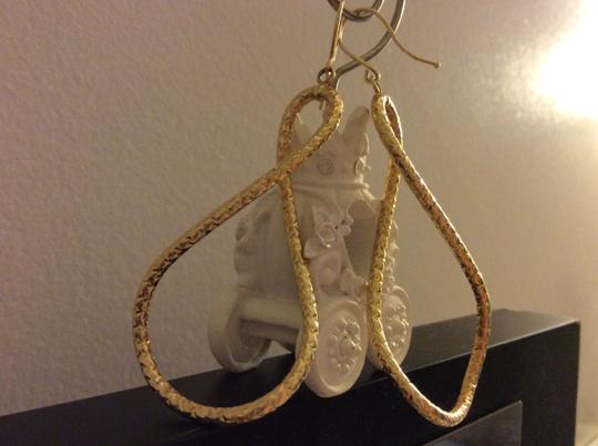 Other 14K Solid Gold Figure Eight Earrings