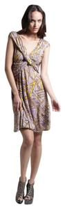 T-Bags Los Angeles short dress batik print Jersey Night Out on Tradesy