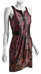 Cynthia Steffe short dress Multi-color print red on Tradesy