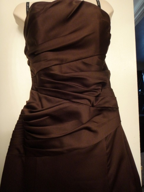 Alfred Angelo Strapless Lace-up Back Ball Gown Full Length Dress