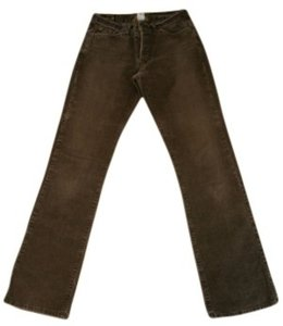 Lucky Brand Boot Cut Pants Brown, washed, corduroy