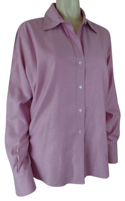 Preload https://img-static.tradesy.com/item/3784936/talbots-pink-tint-wrinkle-resistant-cotton-button-down-top-size-16-xl-plus-0x-0-0-650-650.jpg