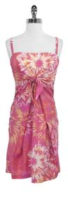 Cynthia Steffe short dress Pink Print Silk Cotton on Tradesy