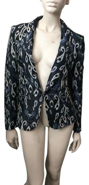 Rag & Bone Blue, gray Blazer