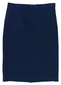 Moschino Pencil Skirt Prussian Blue