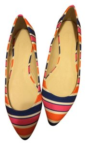 C. Wonder Blue/Pink/Orange Flats
