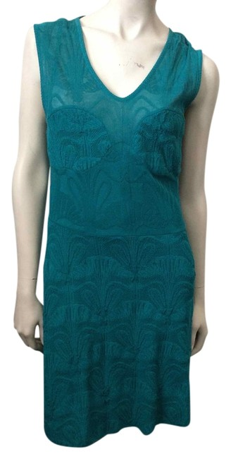 Preload https://item3.tradesy.com/images/missoni-green-knee-length-workoffice-dress-size-0-xs-3785587-0-0.jpg?width=400&height=650