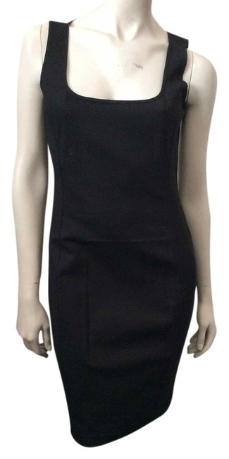 Preload https://item3.tradesy.com/images/halston-black-heritage-stretch-cotton-sheath-above-knee-workoffice-dress-size-4-s-3785677-0-0.jpg?width=400&height=650