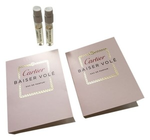 Cartier CARTIER BAISER VOLE Eau de Parfum Samples - Lot of 2
