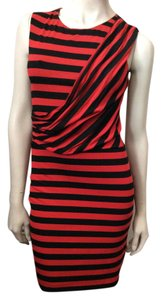 Bailey 44 short dress Red, black on Tradesy