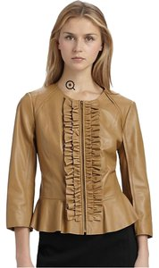 Tory Burch Olive Leather Jacket