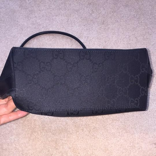 Gucci Handbag Leather Fabric Hobo Shoulder Bag