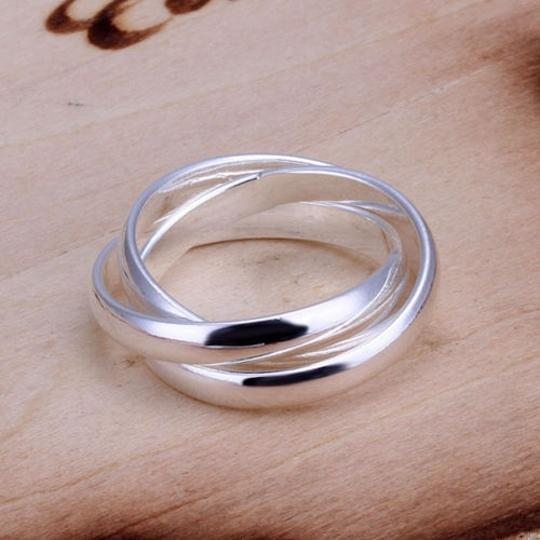 Silver Bogo Free 3 In 1 Ssp Band Free Shipping Ring