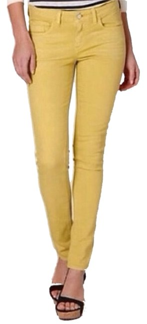 Item - Amber Pilcro Brushed Cotton Skinny Jeans Size 27 (4, S)