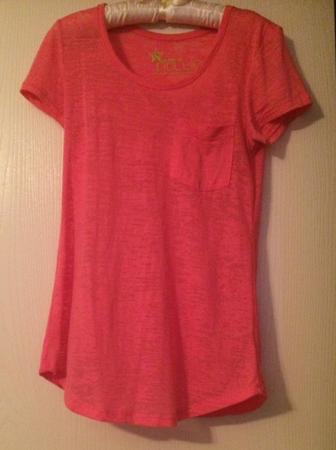 Item - Pink The Tunic Tee Shirt Size 4 (S)
