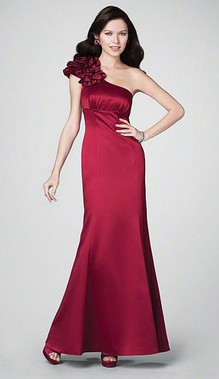 Alfred Angelo Claret/ Berry Wine Color 7179 Dress