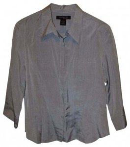 Express Button Down Shirt Gray