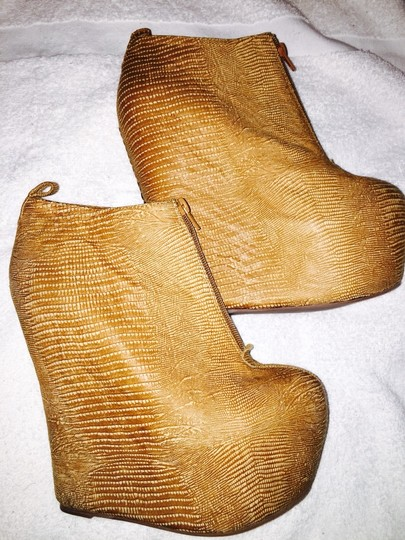 Jeffrey Campbell Tan, Brown, Wheat Boots