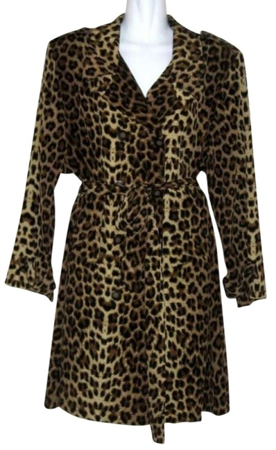 Preload https://img-static.tradesy.com/item/378802/animal-print-trenchcoat-and-set-knee-length-night-out-dress-size-6-s-0-0-650-650.jpg