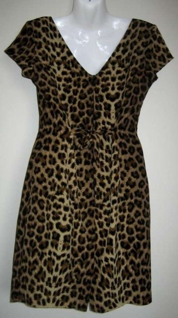 Yes And Coat Trenchcoat Set Leopard Leopard Trenchcoat Tunic ' Tunic Dress