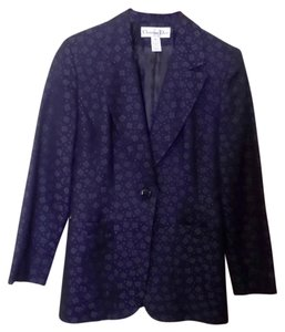 Dior Embroidered Floral Navy Blazer