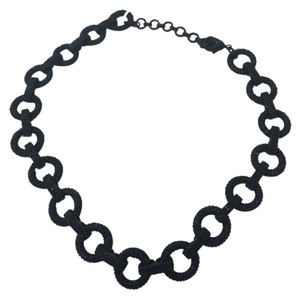 C. Wonder C Wonder Black Pave Necklace And Bracelet Set