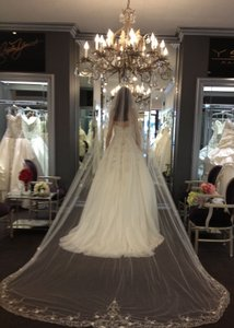 Stephen Yearick Couture Wedding Dress
