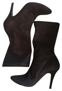 Jean-Michel Cazabat Midcalf Suede Brown Boots