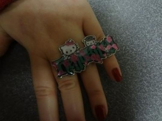 Sanrio Hello Kitty wide ring