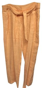 Harvé Benard Straight Pants Tangerine