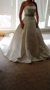 Ivory Formal Wedding Dress Size 8 (M)
