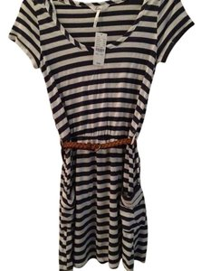 Kirra short dress Blue / White Nautical Striped on Tradesy