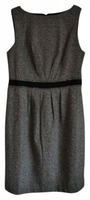 Preload https://img-static.tradesy.com/item/37900/ann-taylor-loft-black-and-white-pleated-tweed-sheath-knee-length-workoffice-dress-size-8-m-0-0-650-650.jpg